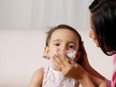 Viêm mũi ở trẻ